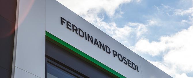 Ferdinand Posedi d.o.o. - pooblaščeni trgovec in servis za vozila Volkswagen in Škoda, pooblaščeni zastopnik in servis za Volkswagen Gospodarska vozila ter pooblaščeni servis za vozila Audi.